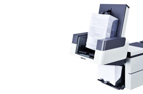 High capacity vertical stacker