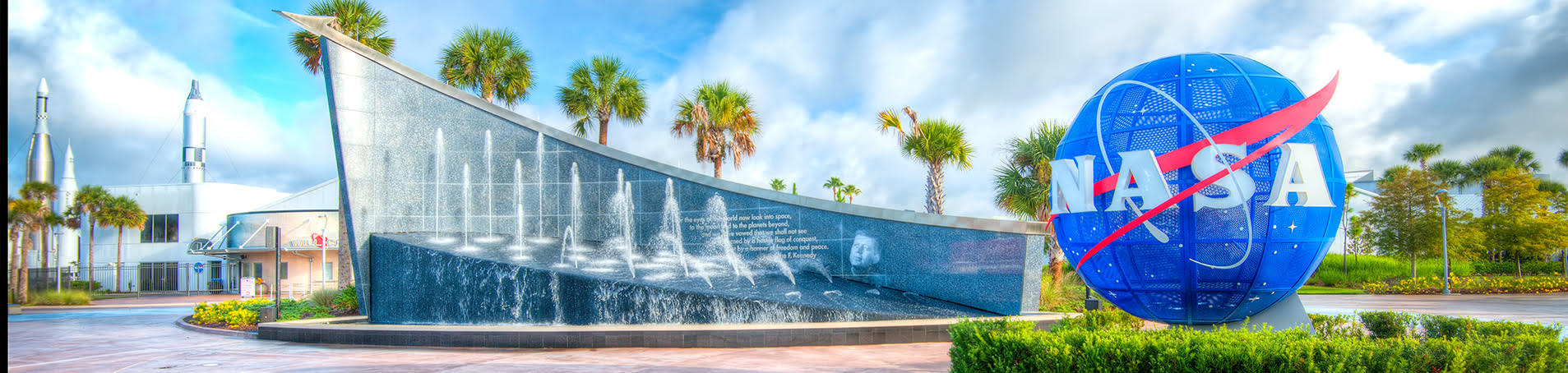 Image courtesy of Kennedy Space Center.