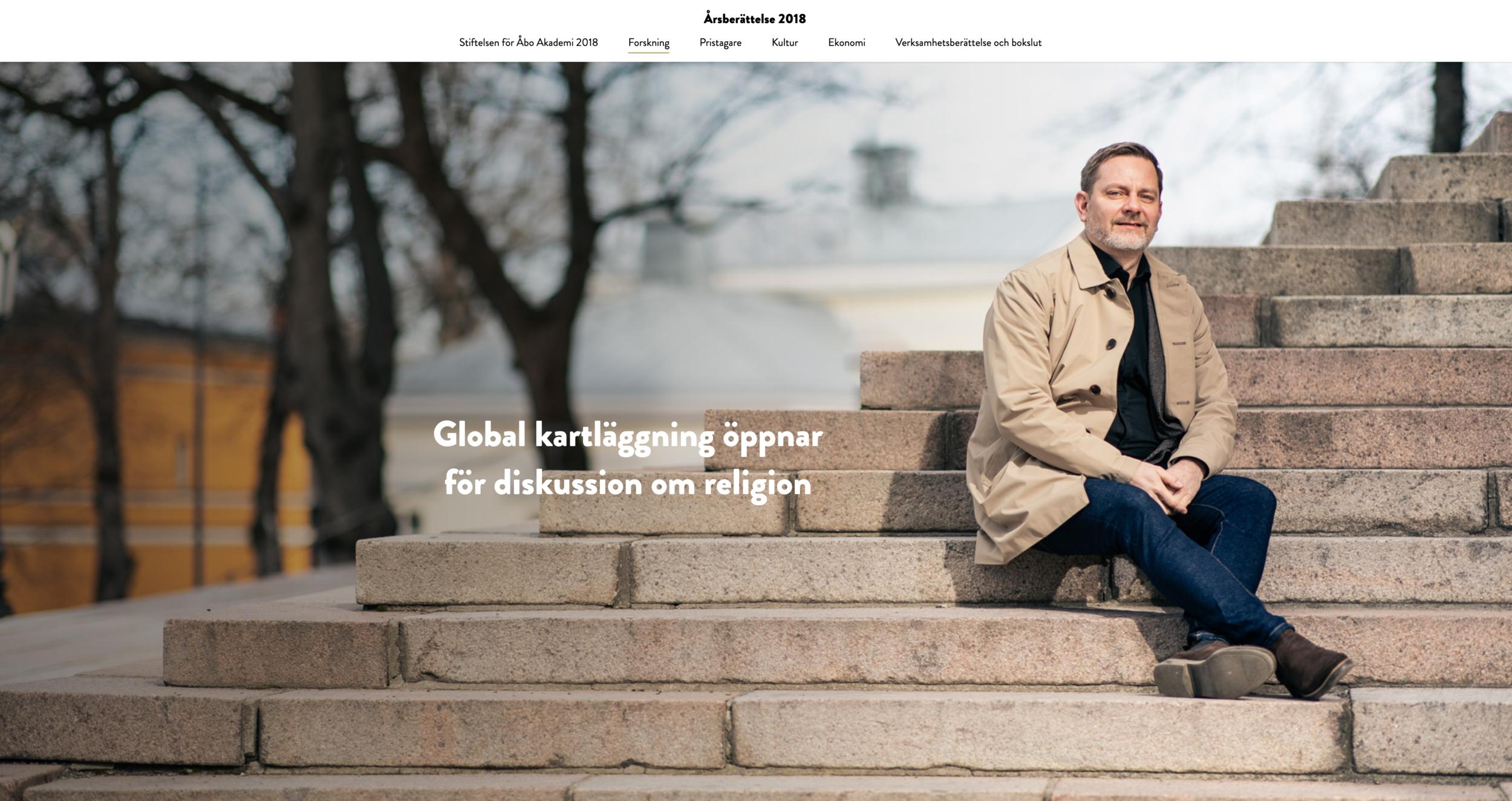 Åbo Akademin säätiön vuosikertomus
