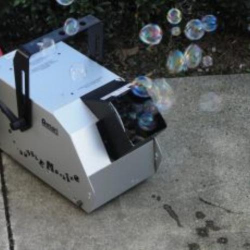 Bubble Machine   Daily hire $30