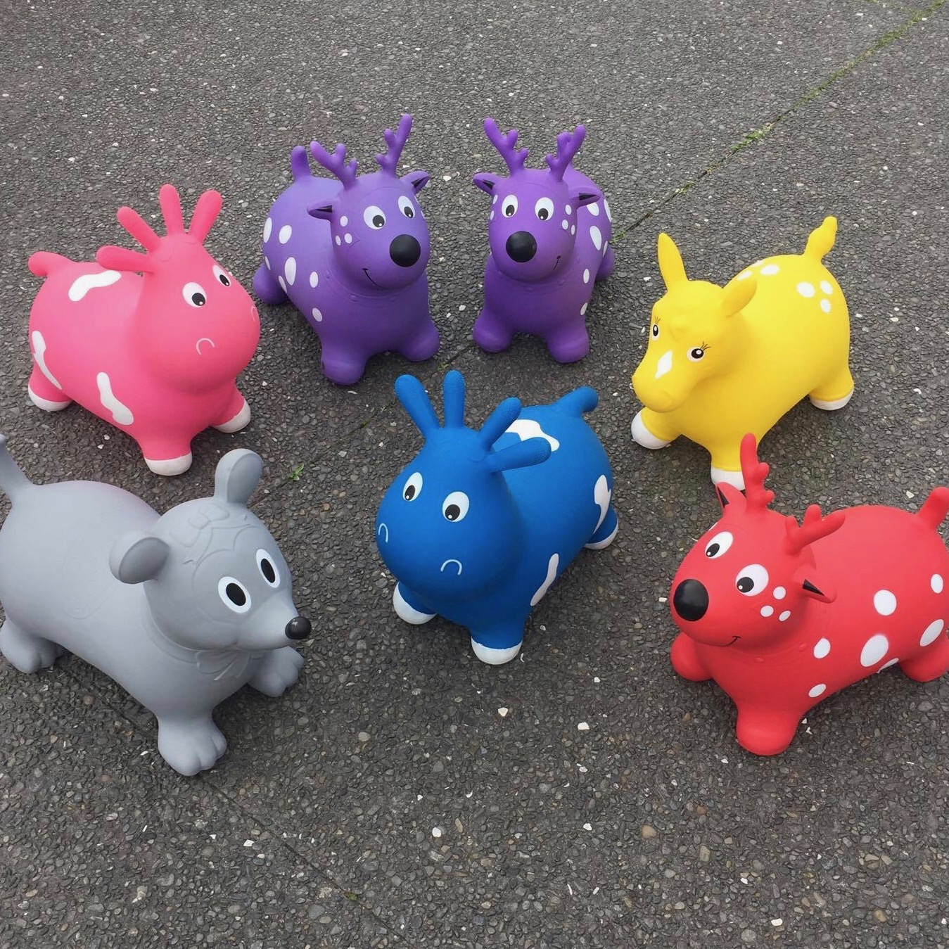 Moon Hoppers   daily hire $20 set of 2