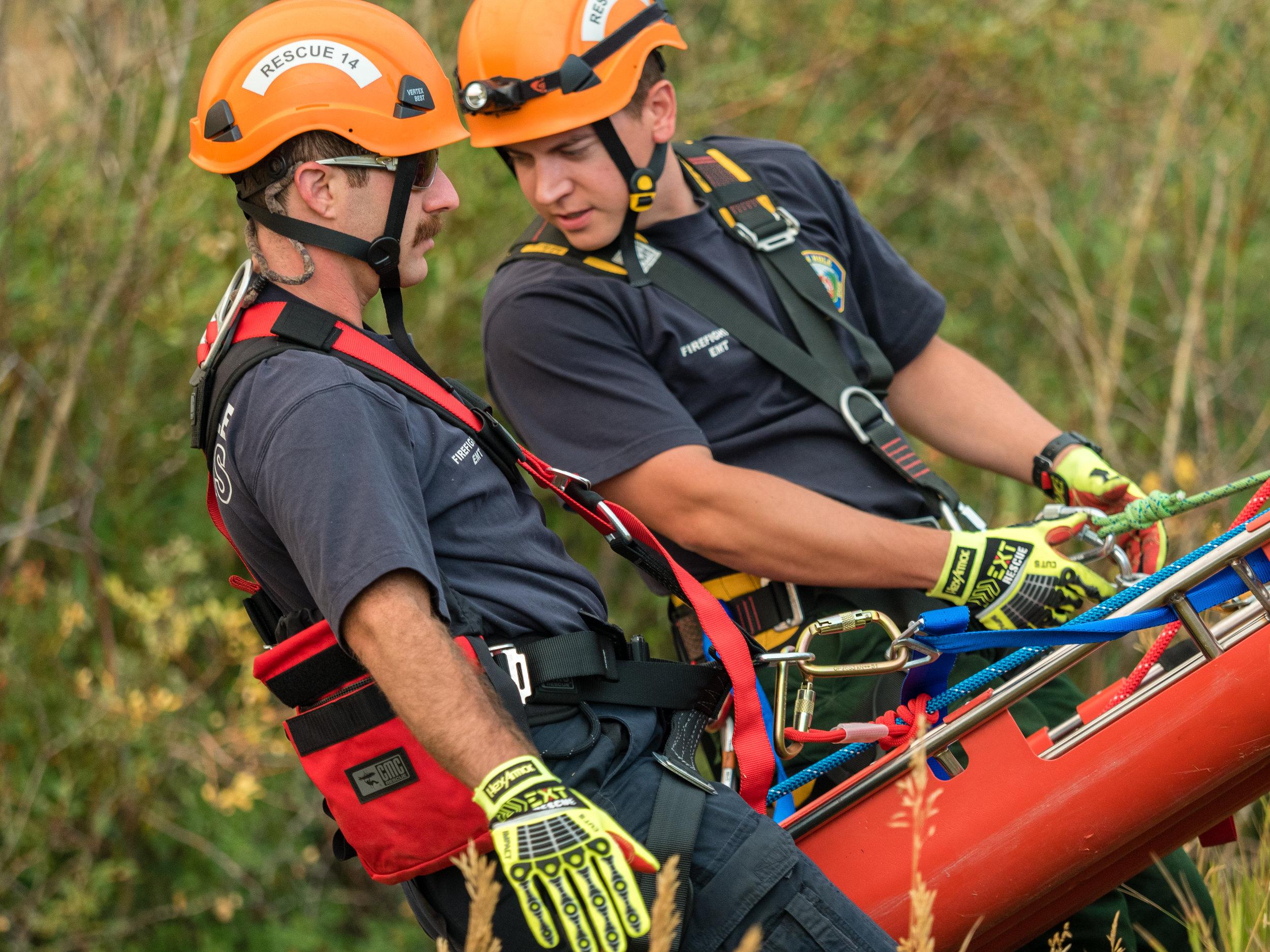 Steep Angle Rescue