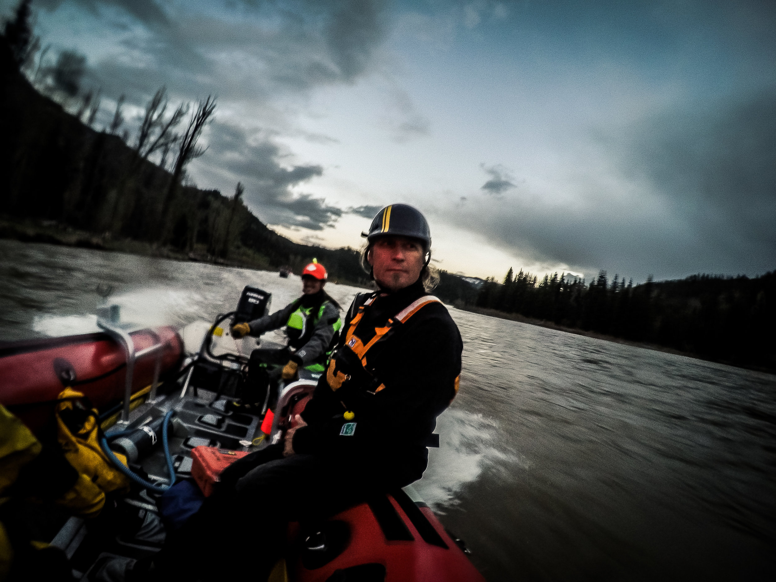 Motorized Boat Handeling Jackson WY