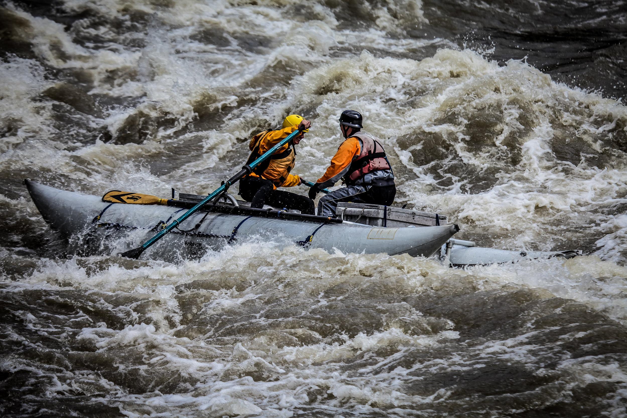Nonmotorized rescue boat operator course