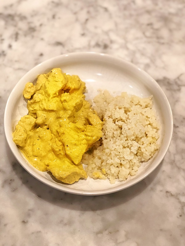 """""""Colonial Curry"""" by Big Else, my grandma."""
