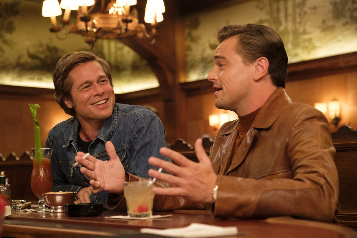 Brad Pitt and Leonardo DiCaprio in  Once Upon a Time in Hollywood. |  Columbia Pictures