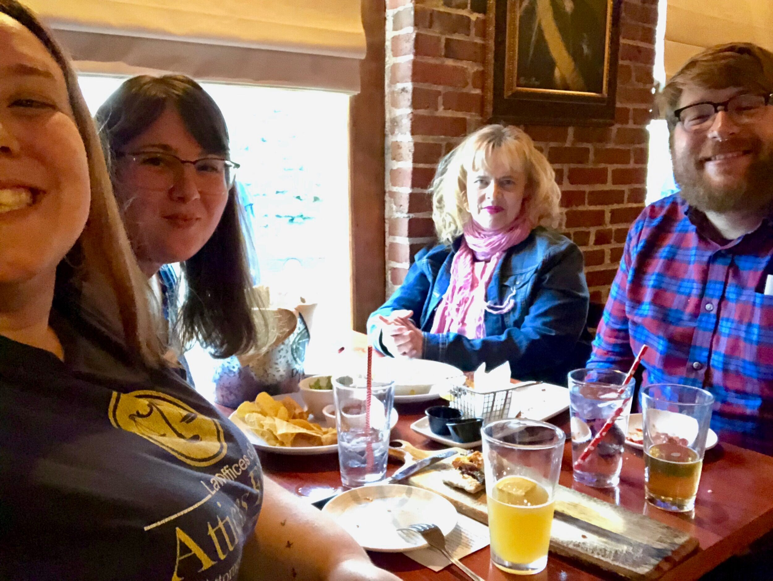Every other Wednesday, Church on the Bend meets for discussion, drinks, and apps at Lucky Dog Gastropub in Conshohocken.