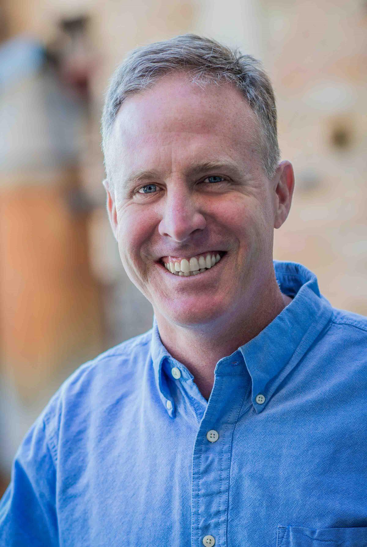 Mark Muller, Mississippi River Program director for the McKnight Foundation