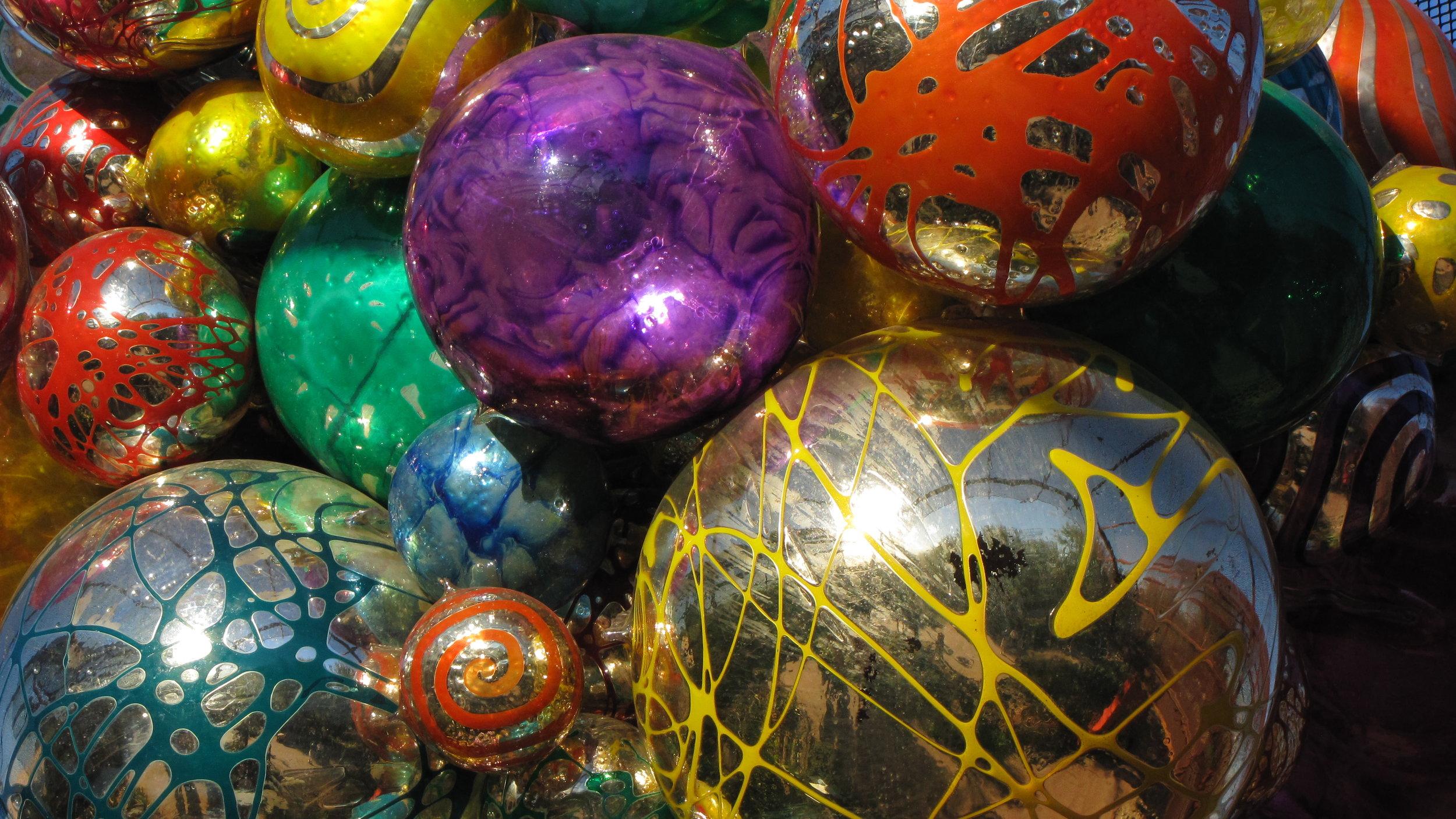 Chihuly's Balls - Desert Botanical Gardens, Phoenix, AZ