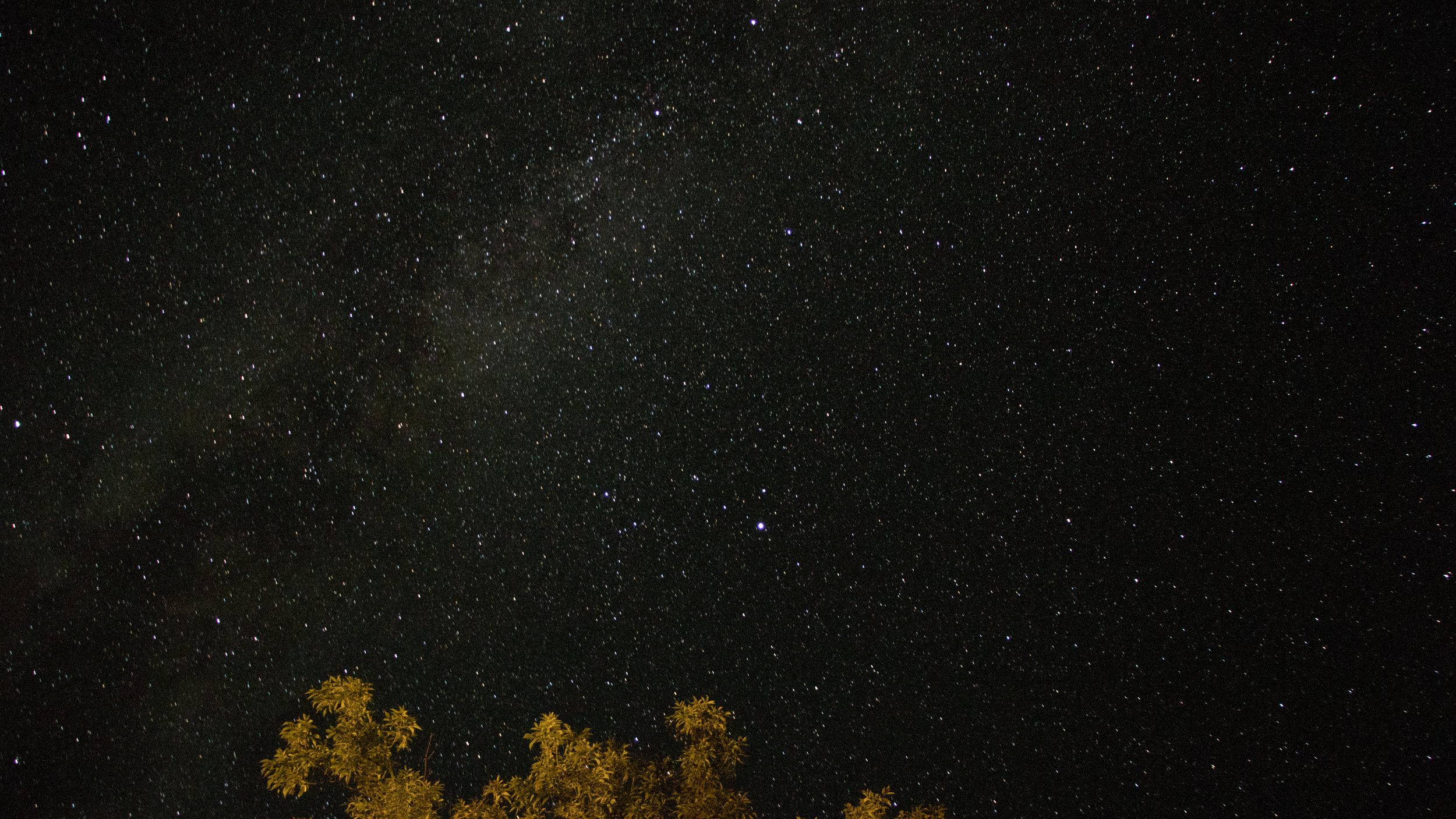A Starry Wisconsin Sky