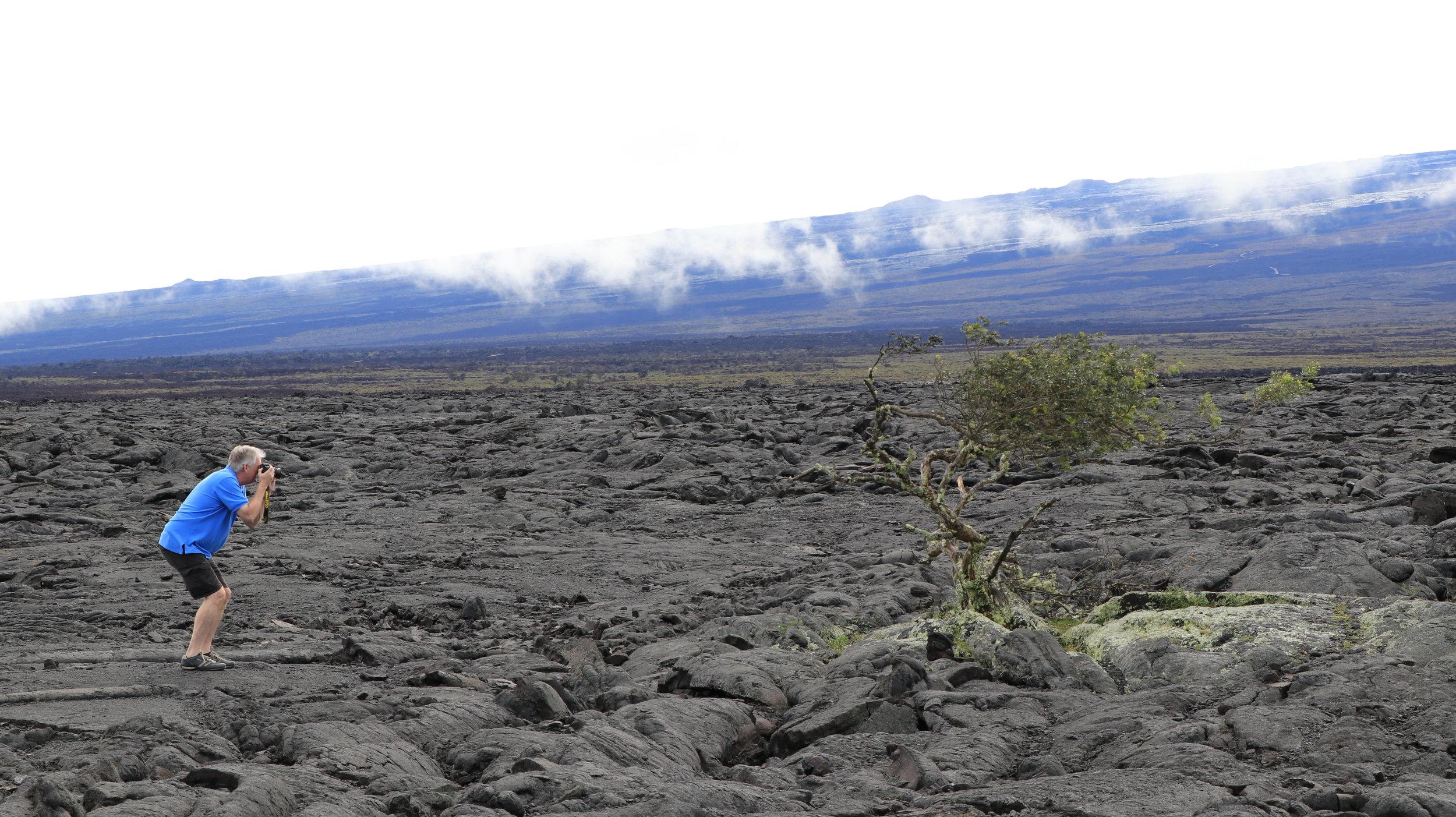 The Photographer & The Tree - Big Island, HI