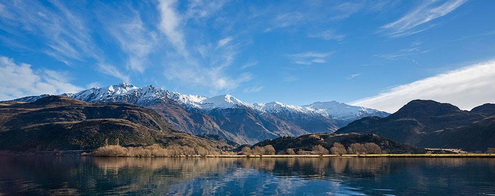 Wakaka NZ landscape