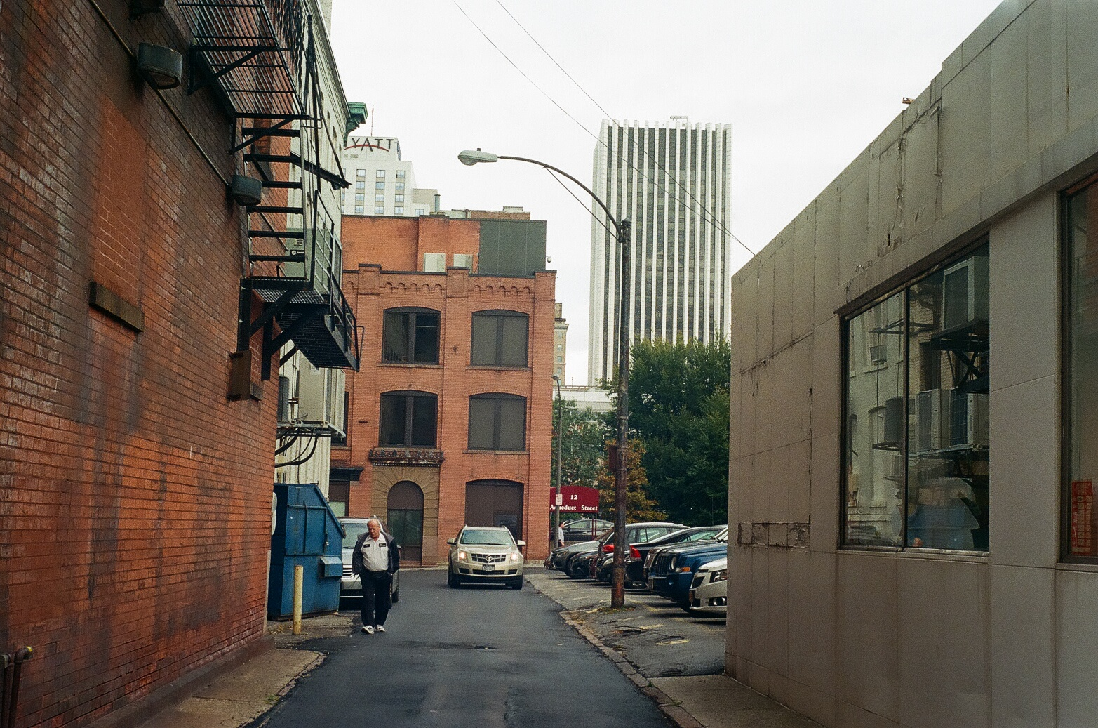 Rochester, NY alley