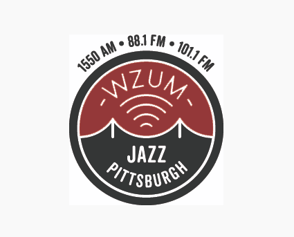 WZUM Window Cling and Sticker- $60 and above - For all gifts of $60 or more, the long awaited WZUM window cling and a bumper sticker, too! Spread the message of Jazz on-the-Air in Pittsburgh with your happy display of our logo.