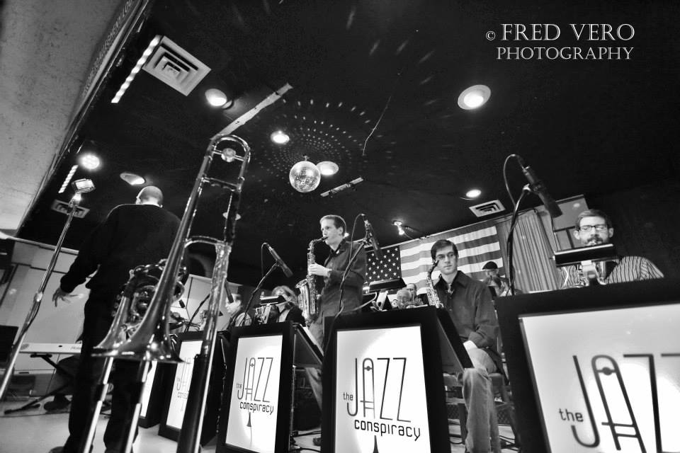 Jazz Conspiracy Big Band - credit Fred Vero