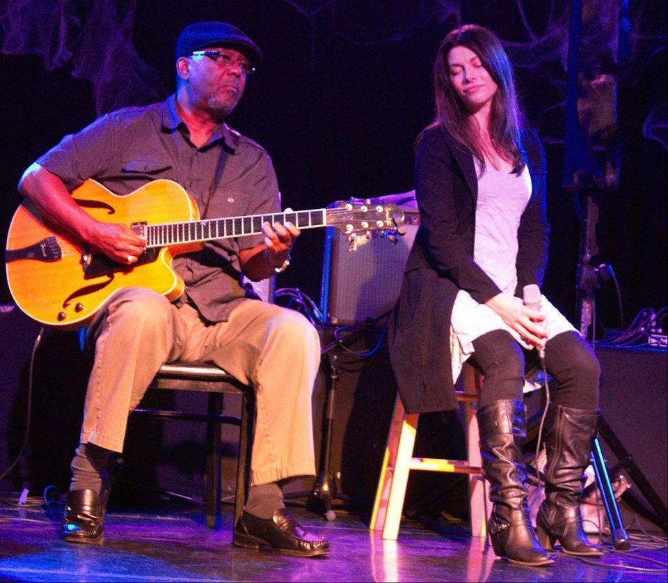 Mark Strickland and Jessica Lee