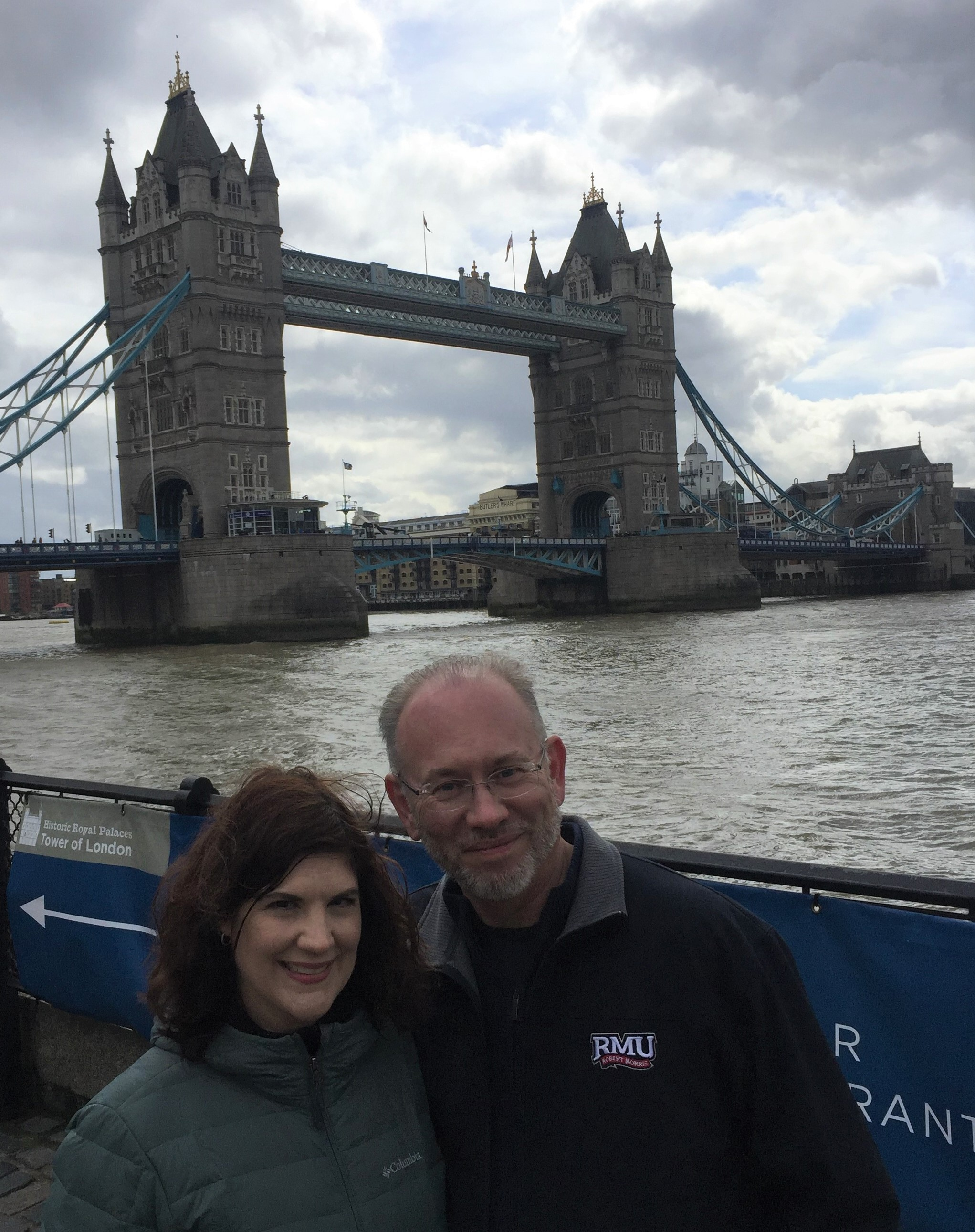 Renée Govanucci and Marty Ashby in London