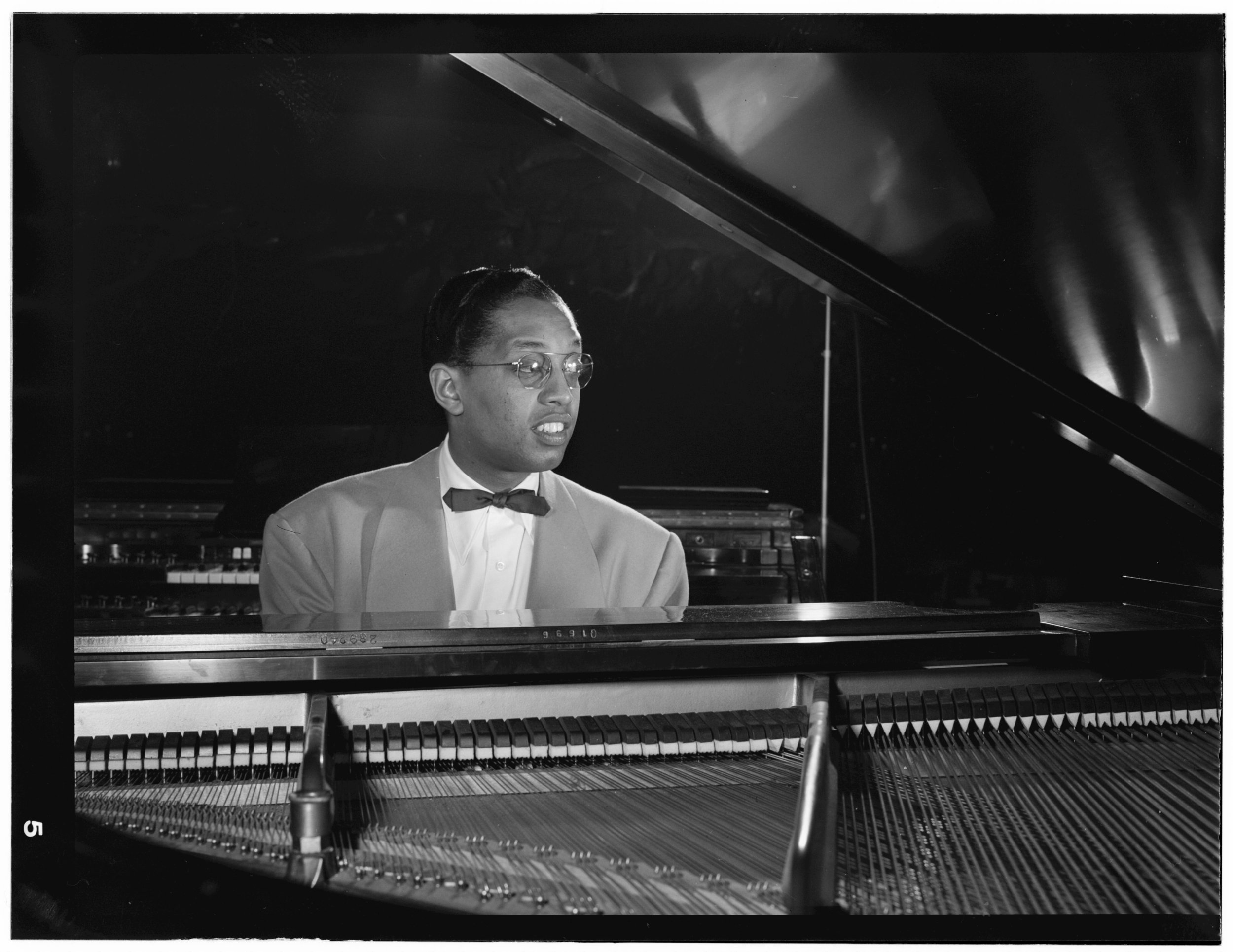 Billy Taylor in New York, credit   William P. Gottlieb    collection at the    Library of Congress   .