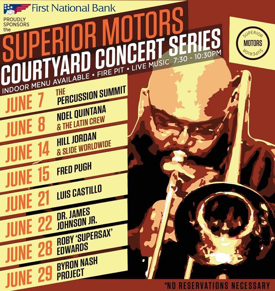 Superior Motors Menu >> Hill Jordan And Slide Worldwide At Superior Motors Courtyard