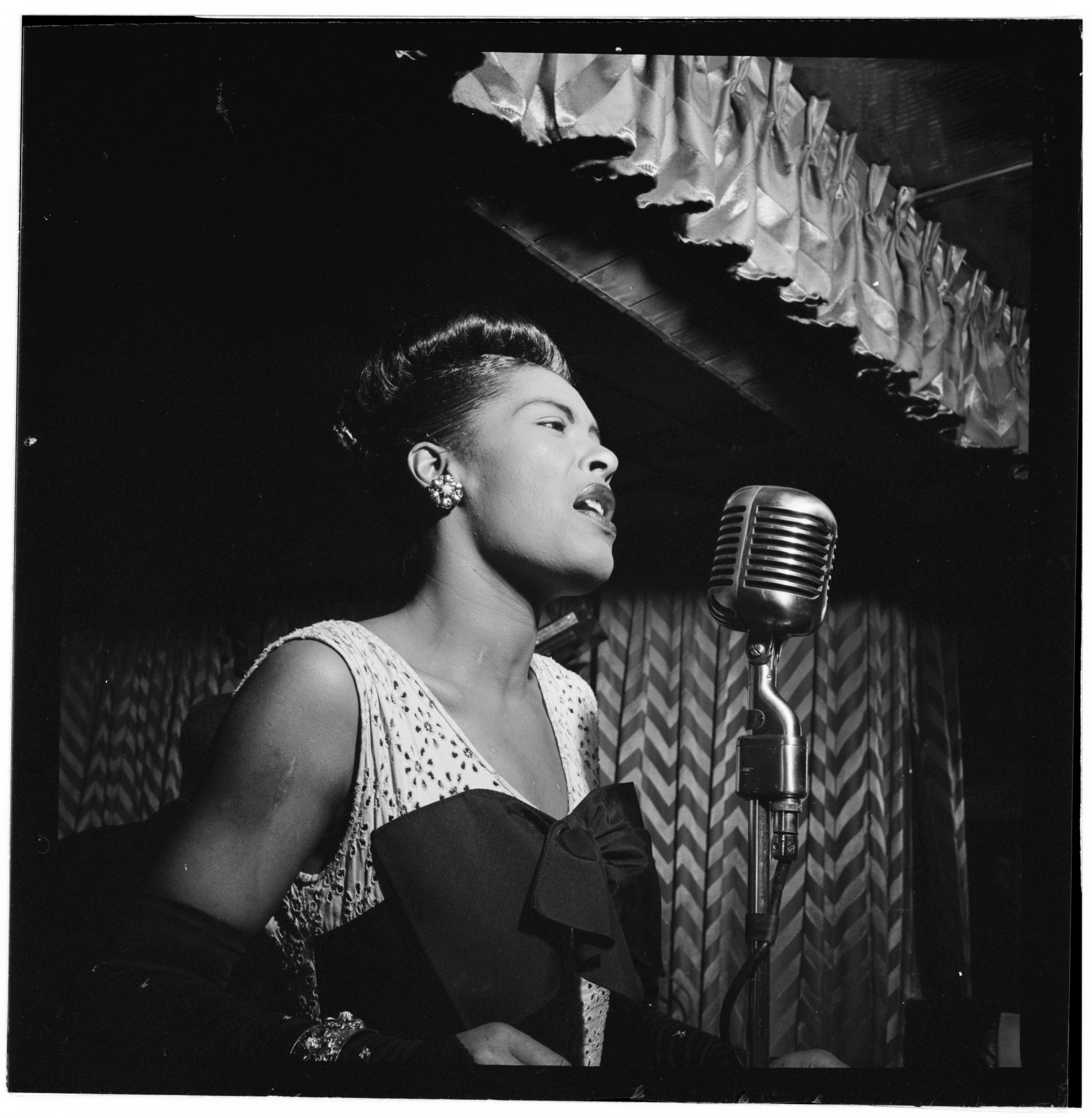Billie Holiday Downbeat 1947