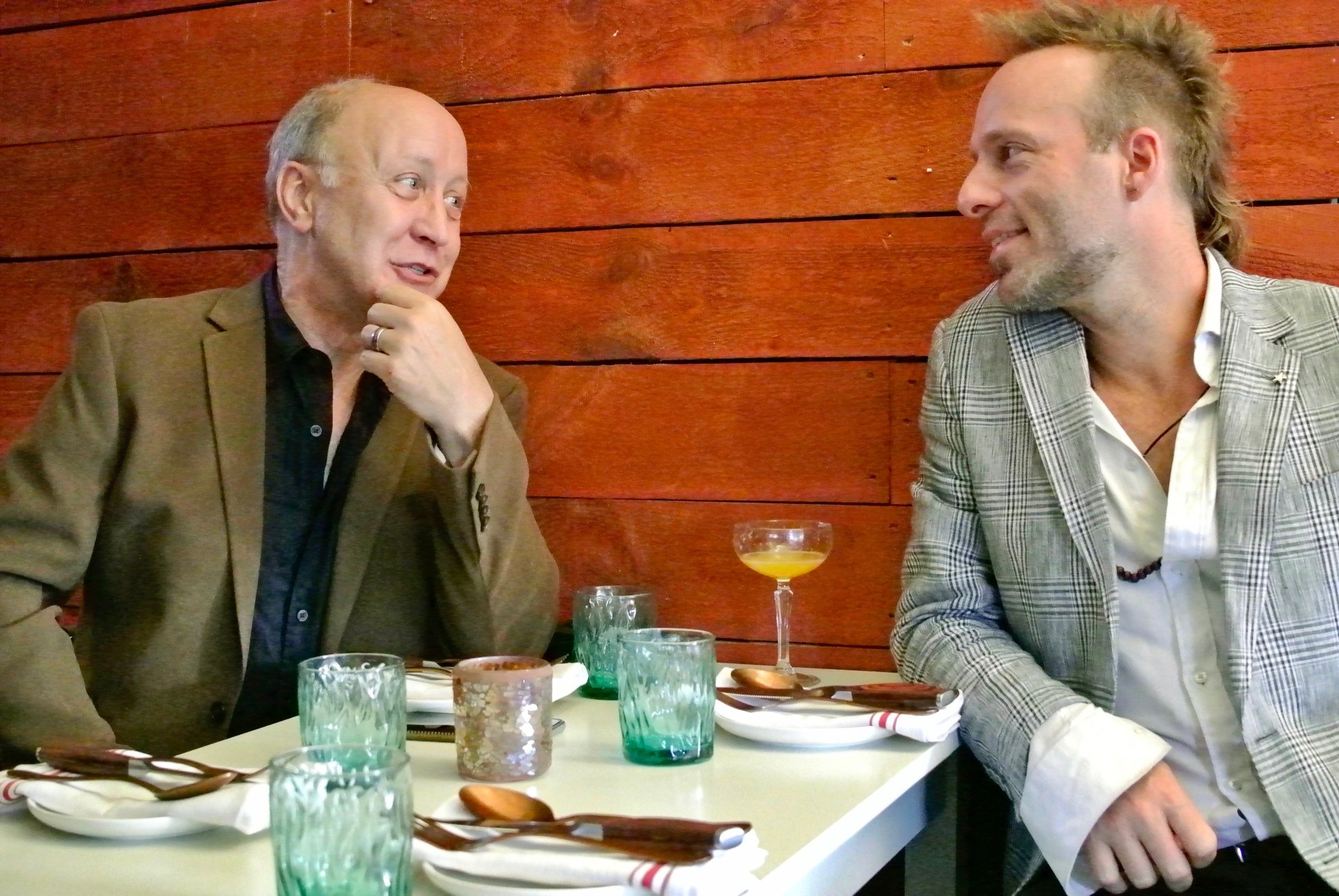 Scott Hanley and John Shannon at Con Alma, David Roth