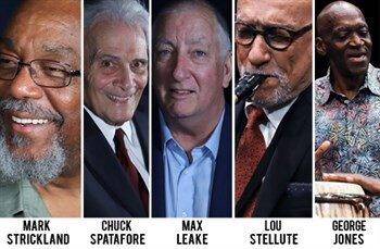 October 10th MCG Jazz Legacy Honorees