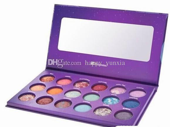 Lot New Makeup BH Cosmetics Galaxy Chic Baked Eyeshadow Palette 18 Colors Eye Shadow!.jpg