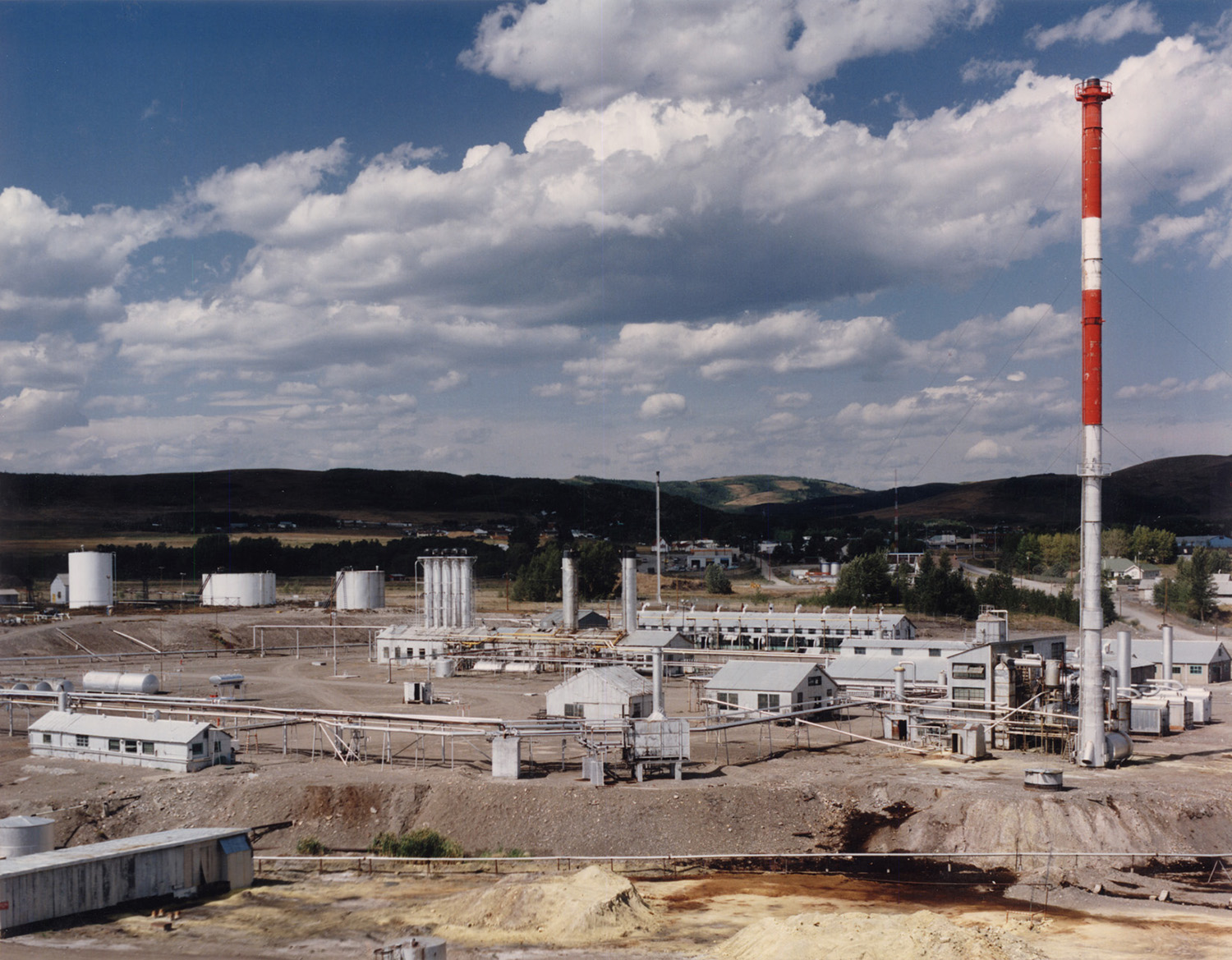 Turner Valley Gas Plant 1977