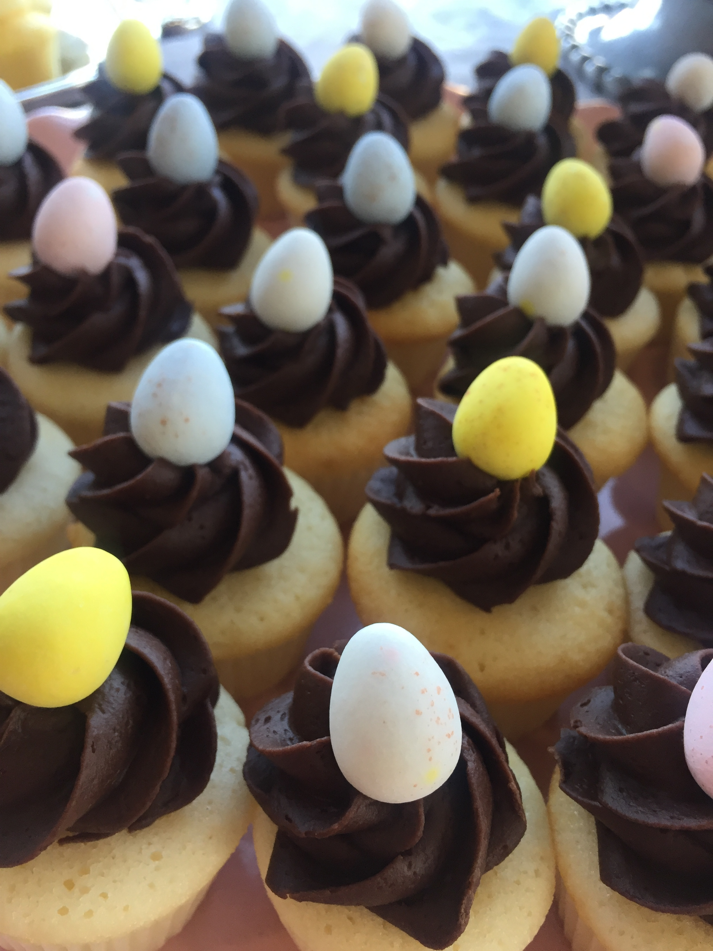 Easter Egg Mini Cupcakes
