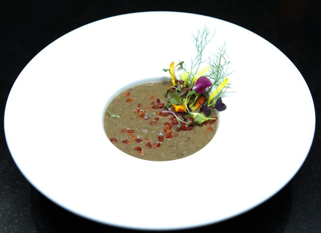 HomeiraStyle Lentil Bacon Soup