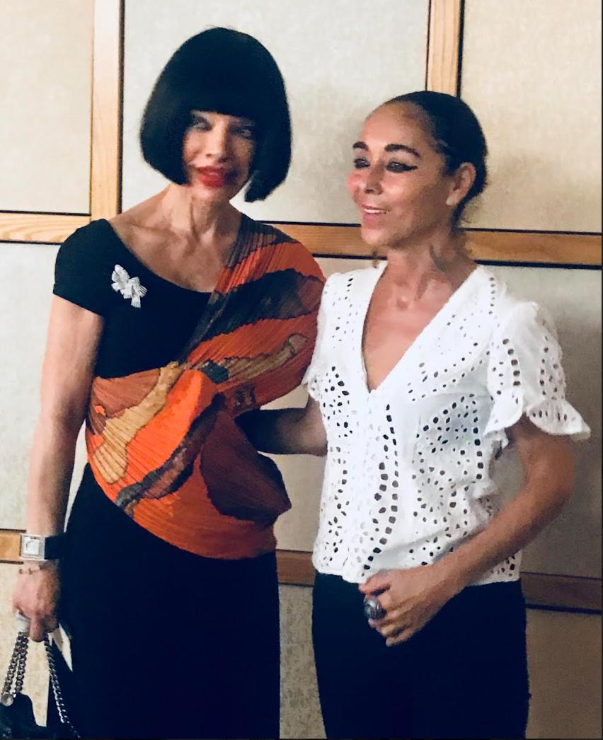 Homeira Goldstein & Shirin Neshat