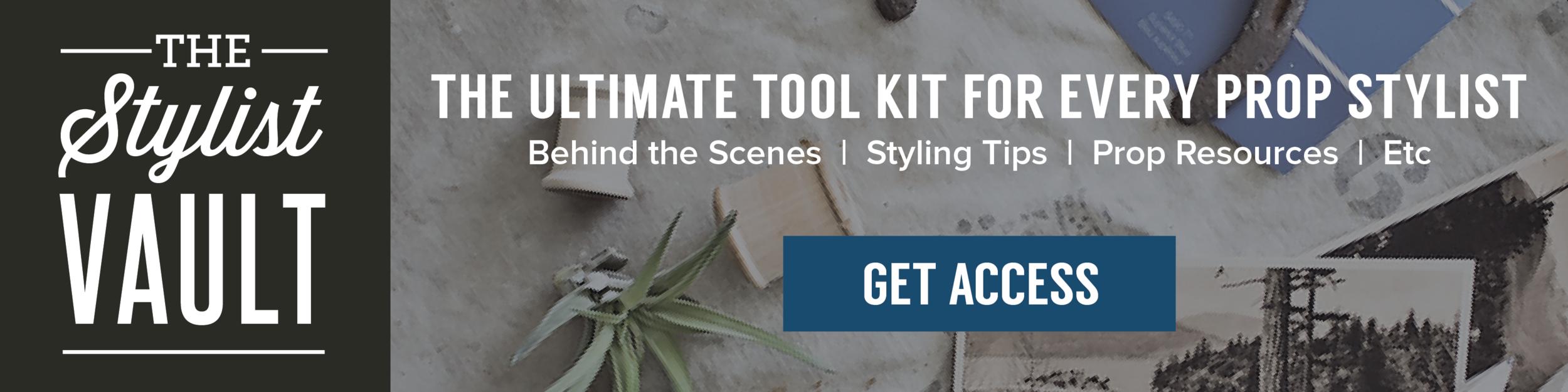Get Access to The Stylist Vault | Planq Studio