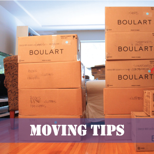 Moving Tips | Redesigned By M