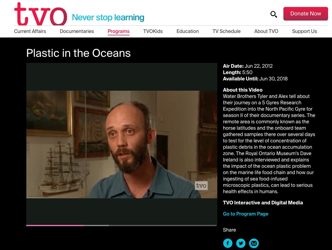 TVO  - June 22, 2012
