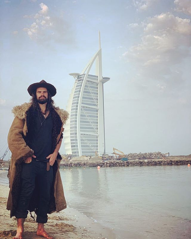 I think the longer you are away on expedition the longer it takes to really sink in and process it. In the past 48 hours I swam in the Persian Gulf (thank you @dochollisann ) , biked 100km (thank you @paris_wallace and @spin__n__tonic ) and interviewed the man who first discovered hydrothermal vents at the bottom of the ocean and the shipwreck of the Titanic. All were great distractions from my complete reverse culture shock of using normal bathrooms, being inside buildings, and the welcome absence of mosquito swarms. I will keep posting photos from the expedition and our finds because 1.) there is still so much to share that I haven't pulled out of the 5TB of footage and photos I took 2.) it helps me deal with how much I miss the people, place and life out there in Siberia. But it won't be long- stay tuned for the Fall (basically winter🥶) campaign to Siberia in just about a month . . . . . . . . . . . . .#siberia #russia #tuva #archaeology #fieldwork #expedition #explorersclub #archaeologylife #science #journey #travel #optoutside #explorer #jetset #persiangulf #dubai #beach  #worldwidewallace #layover
