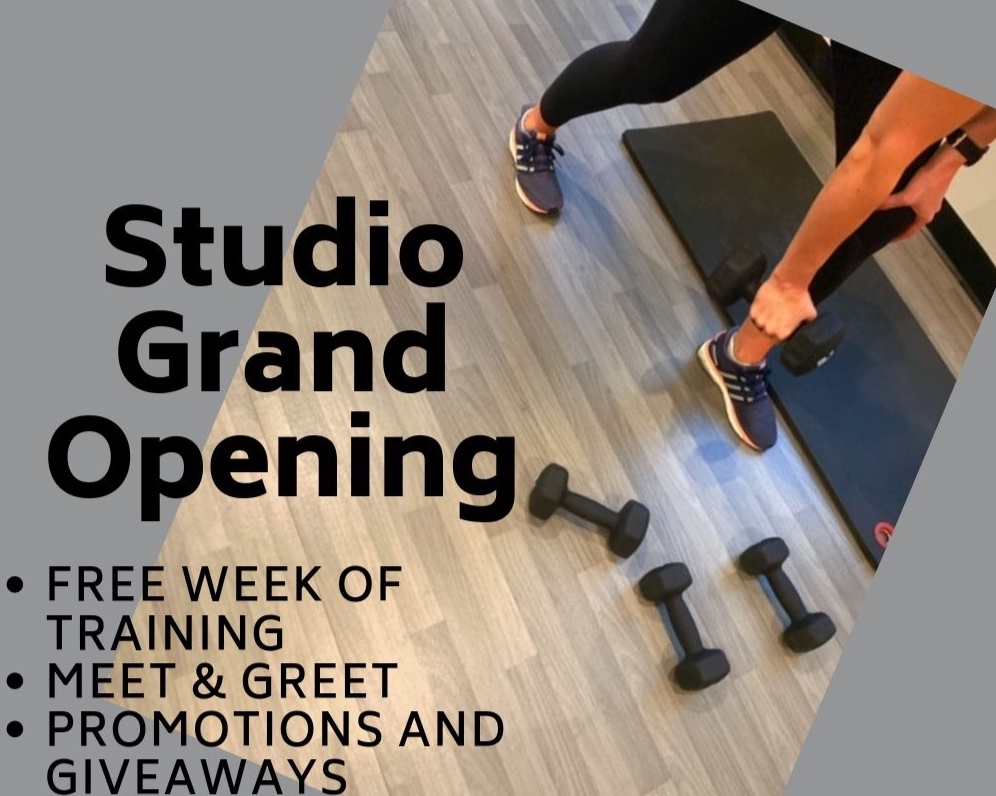 This September: - Special Rates all MonthFree week of Small Group Training 9/16-9/209/19 Stronger After Pregnancy Workshop9/21 Meet & Greet Grand Opening Event *RSVP below