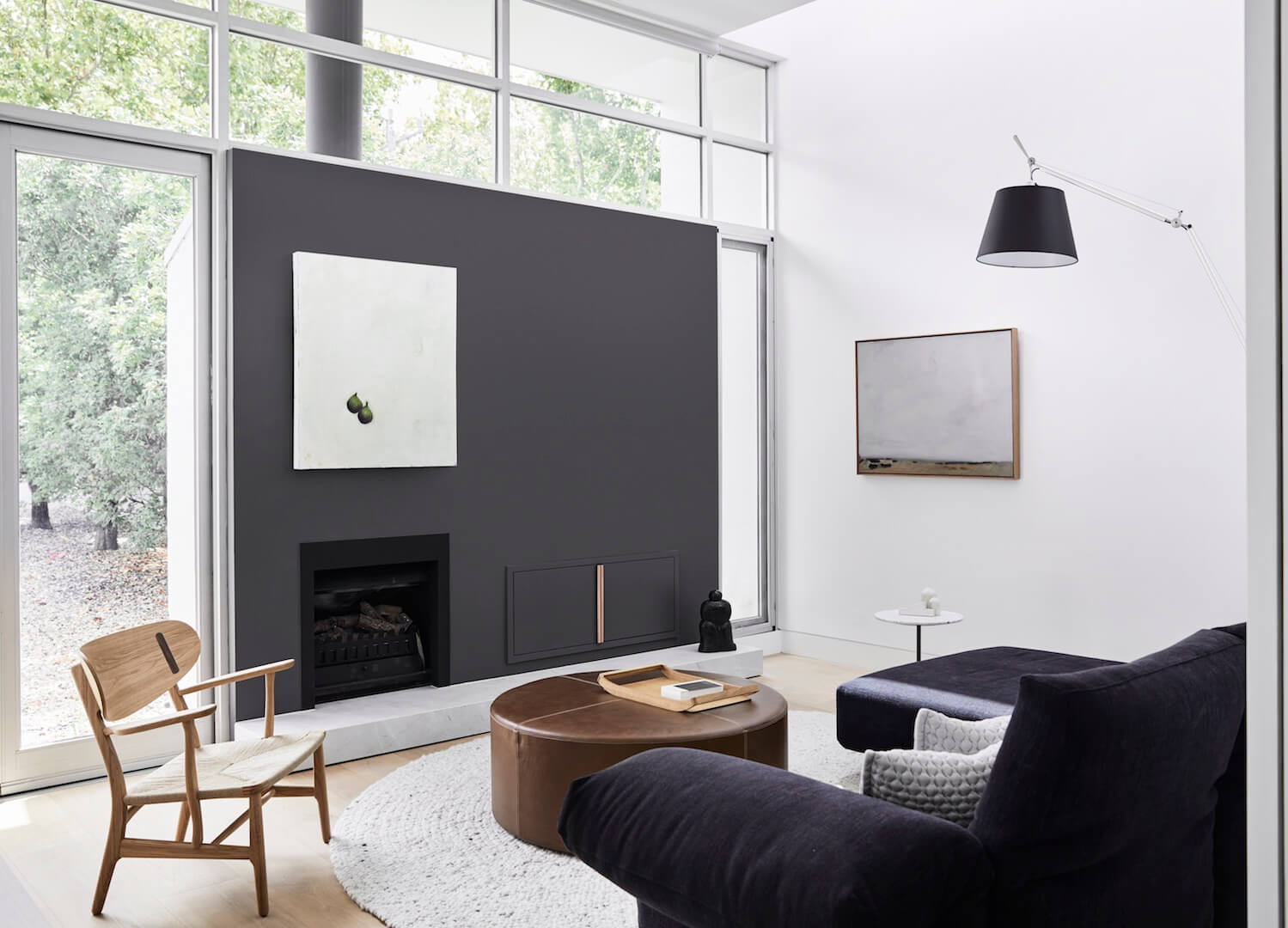 For Carole Whiting Interiors + Design, whose work often sits in the liminal space between whimsy and minimalism, this home in Melbourne's South-East suburb of Glen Iris presented a chance to demonstrate the studio's prowess in striking this studied balance. -