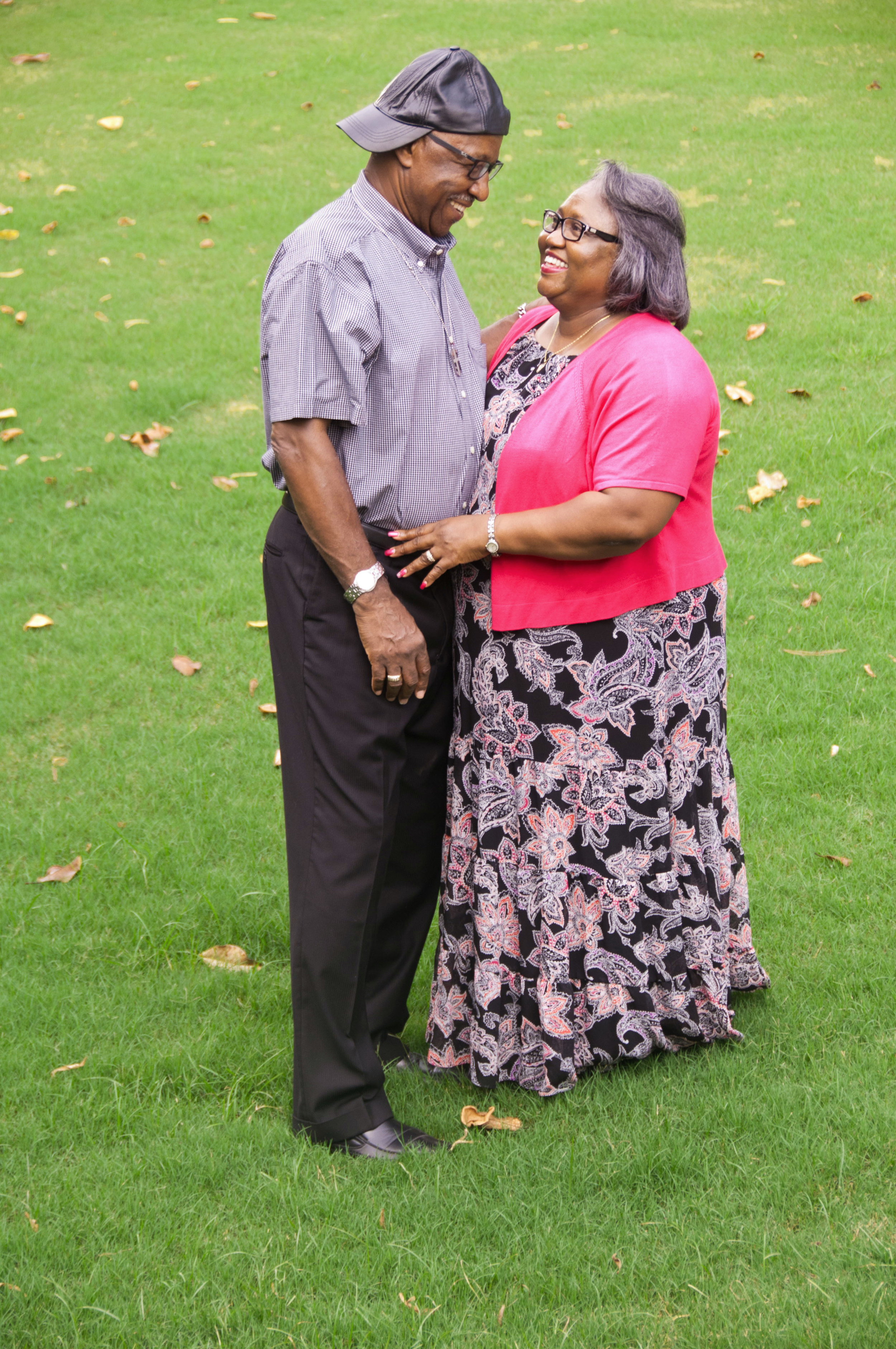 Brother James Brown, Senior and his wife Charel.