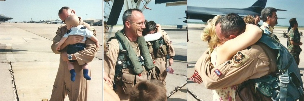 Decorated Combat Veteran Rob Maness welcomed home from war zone deployment operations