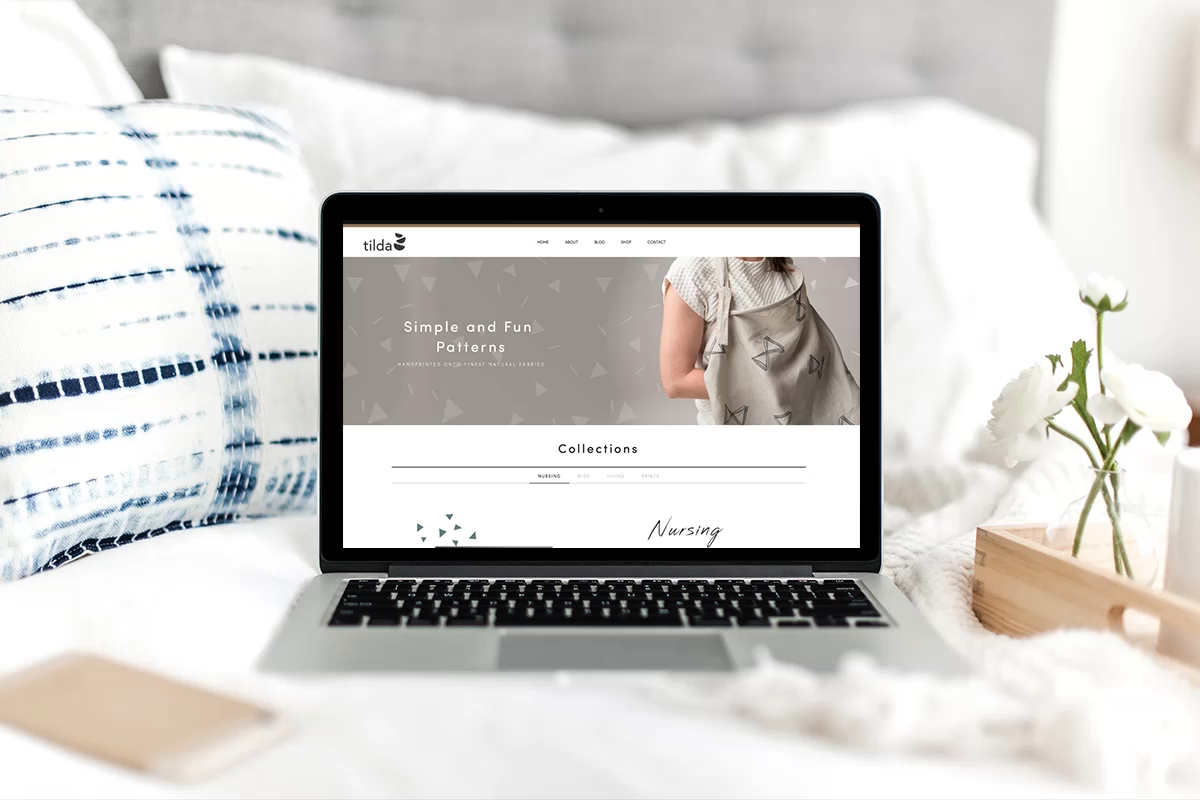 Tilda textiles: Branding & E-Commerce Website