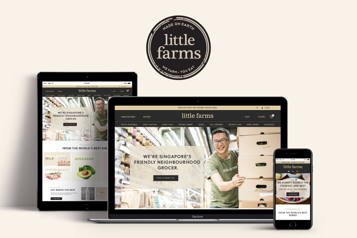 Little Farms: Shopify Makeover