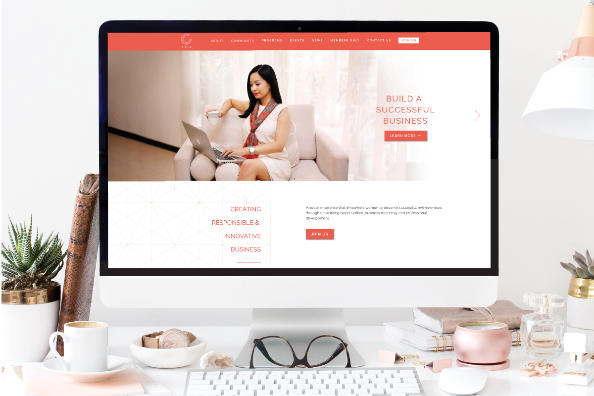 Crib: Website Design