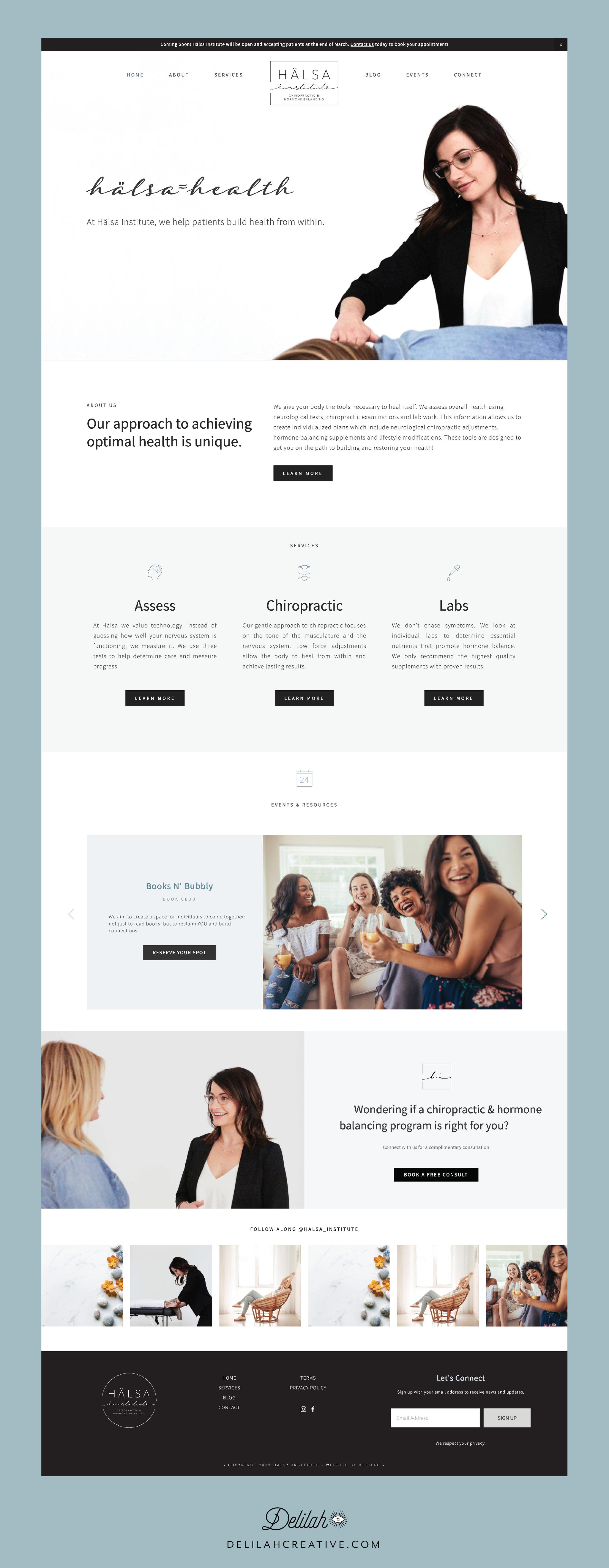 halsa-squarespace-website