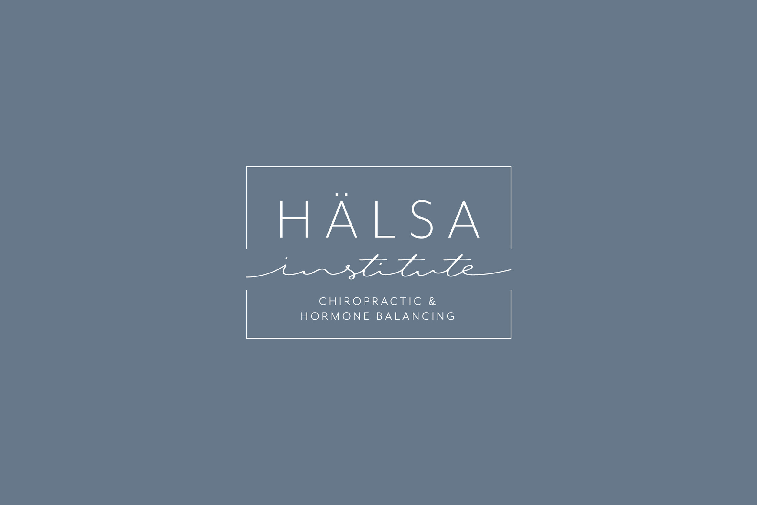 branding & website: Halsa Institute
