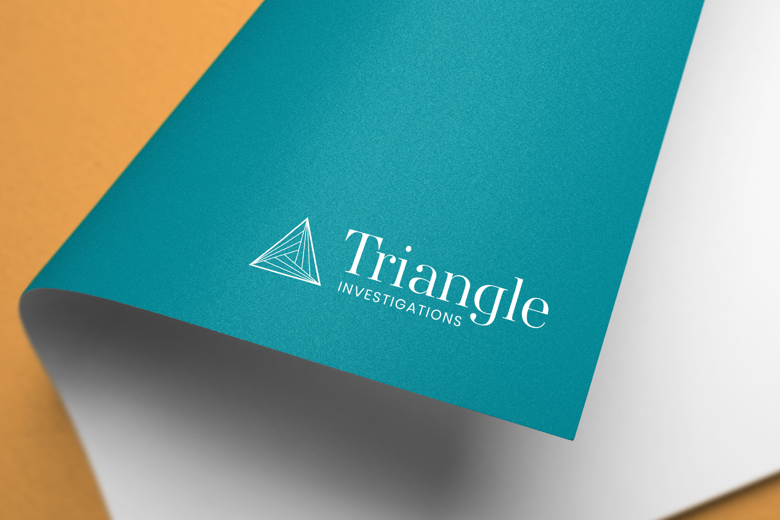 BRANDING & WEBSITE: TRIANGLE INVESTIGATIONS