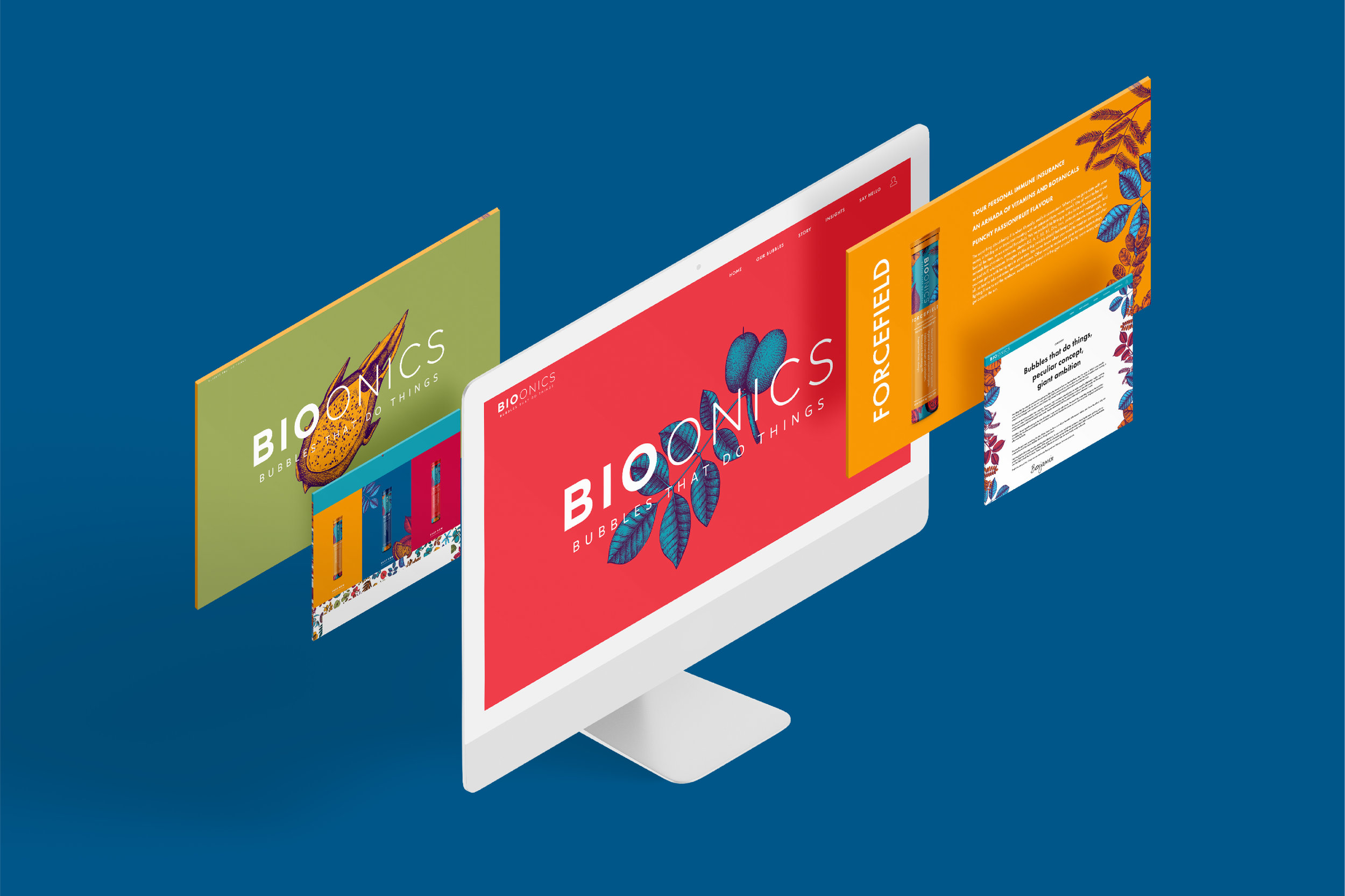 Bioonics: Website design