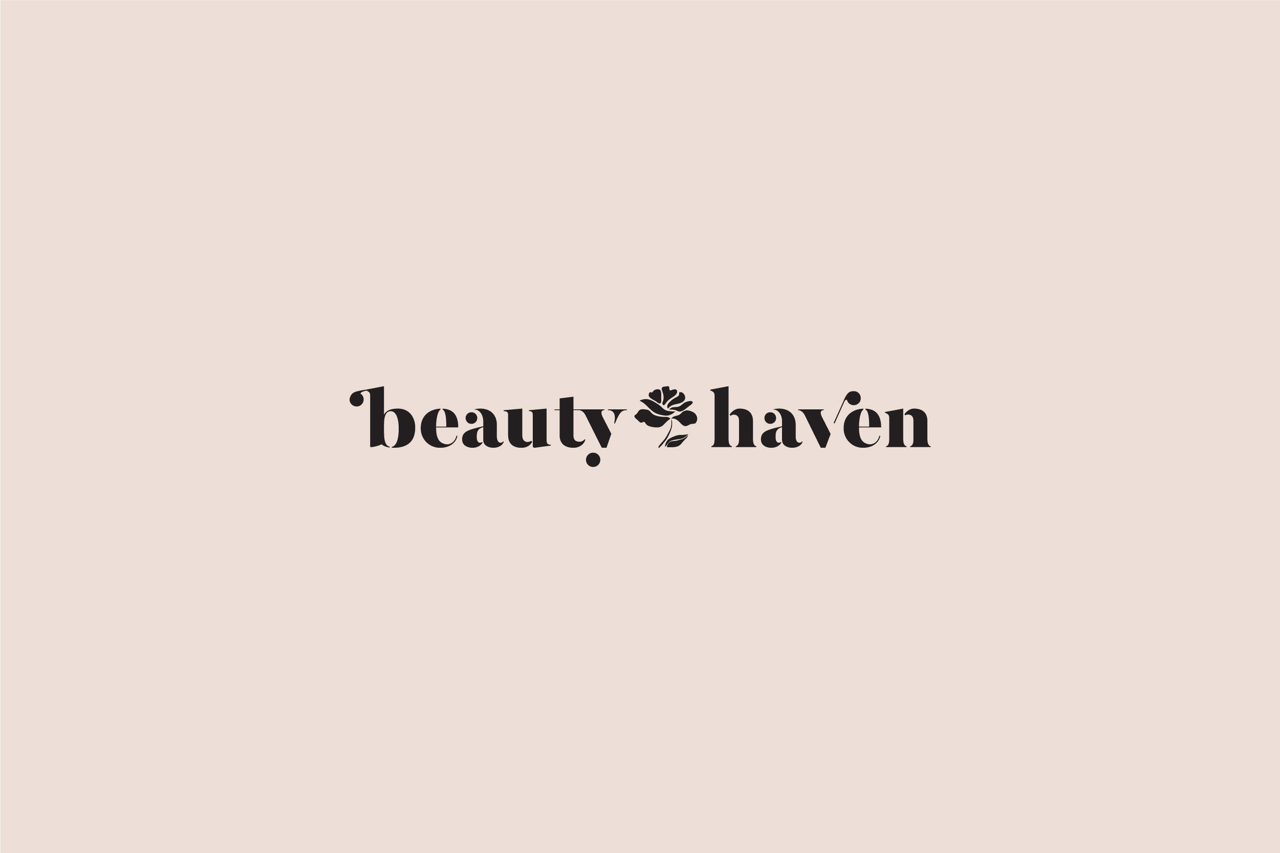 bespoke branding: Beauty Haven