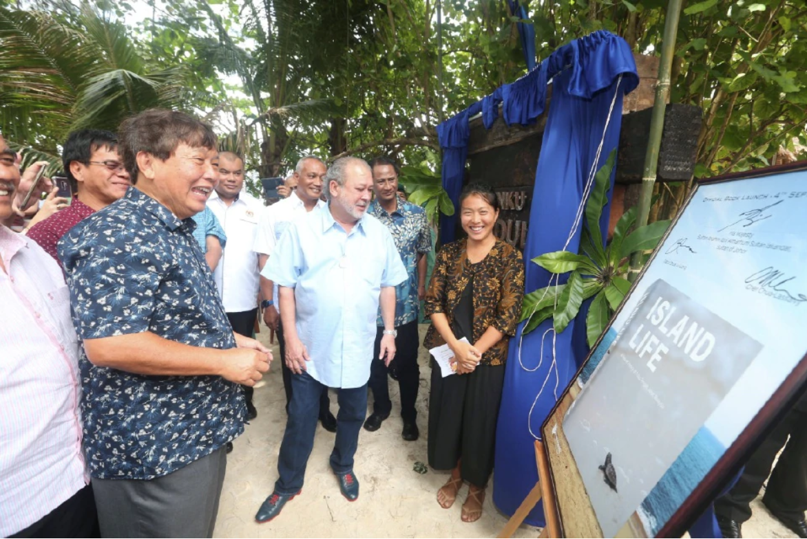 Tunku Abdul Jalil Conservation Centre opening.png