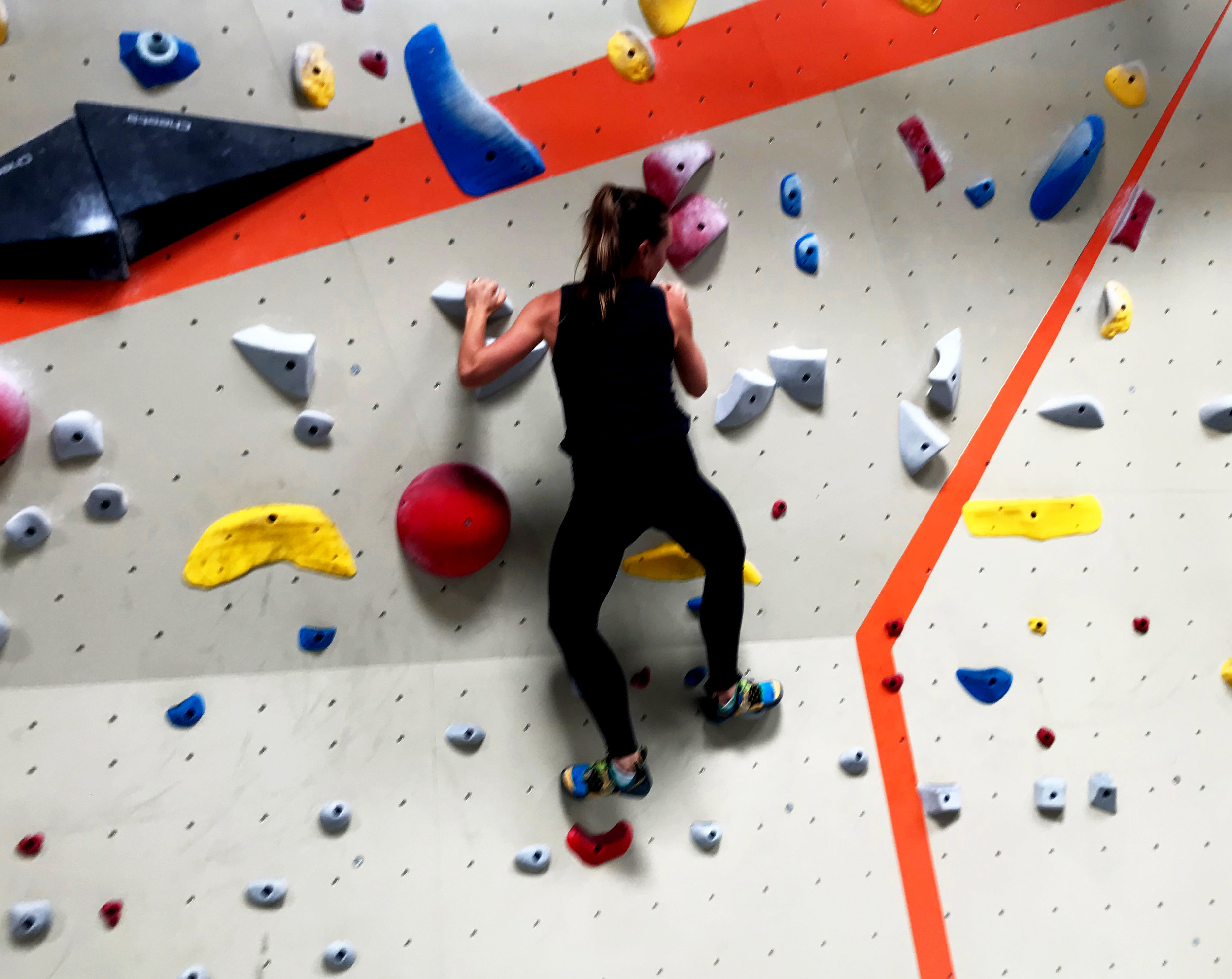 Bouldering at Movement