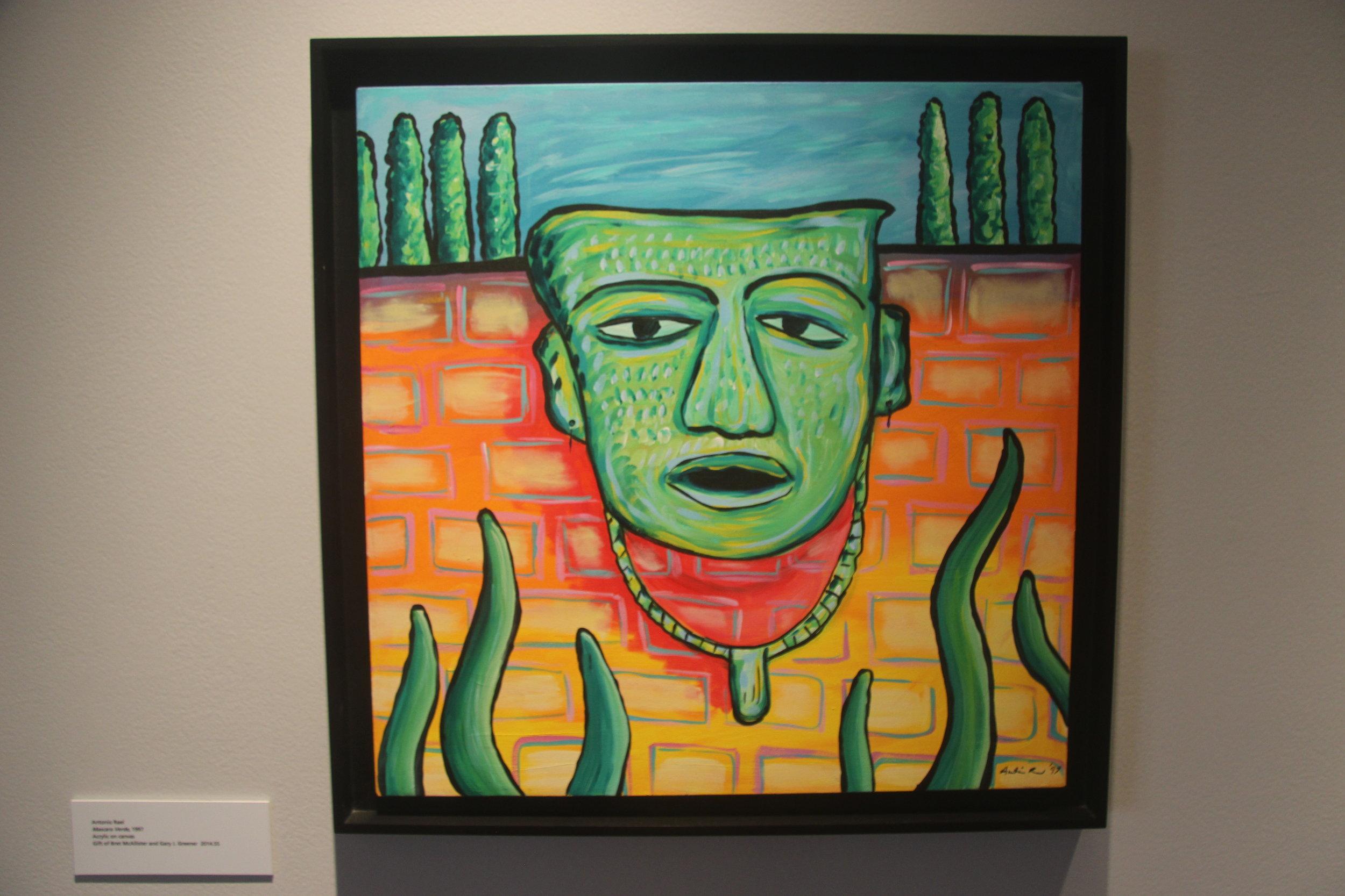 Antonio Real - -Mascara Verde- - 1997.JPG